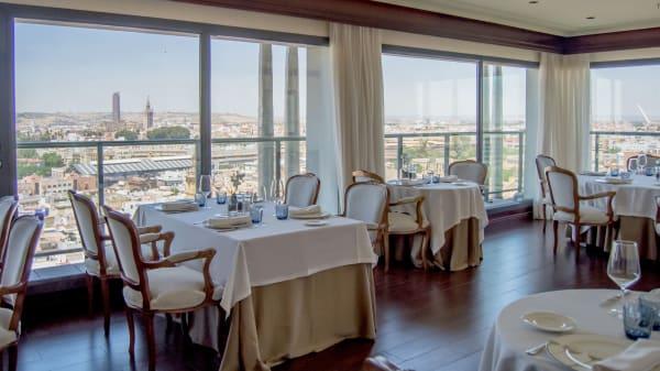 Vista panorámica - Al-Zagal restaurante panorámico - Hotel Sevilla Center, Sevilla