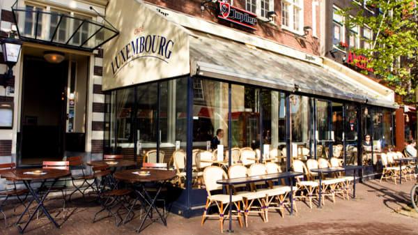 Ingang - Luxembourg, Amsterdam
