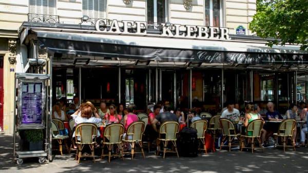 Vue terrasse - Café Kleber, Paris