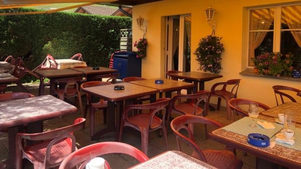 Terrasse - Restaurant du Lac Vernay, Roche