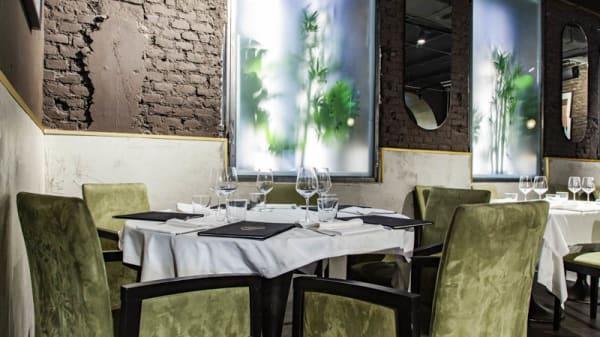 Vista sala - Oro Restaurant, Milan