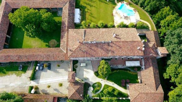 Una vista dall'alto di Villa Fabrizia - Villa Fabrizia, Bertonico