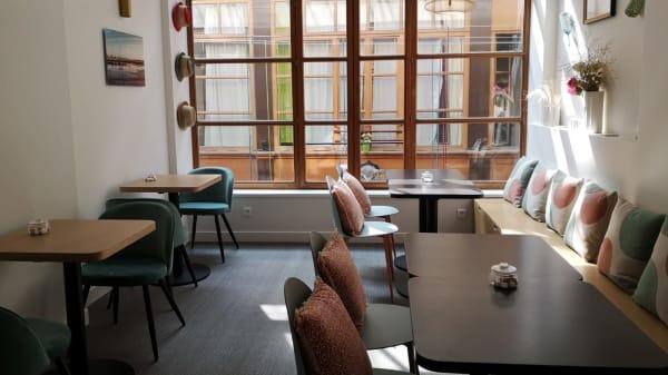 Salle de restauration à l'étage - KALANY MYA, Paris