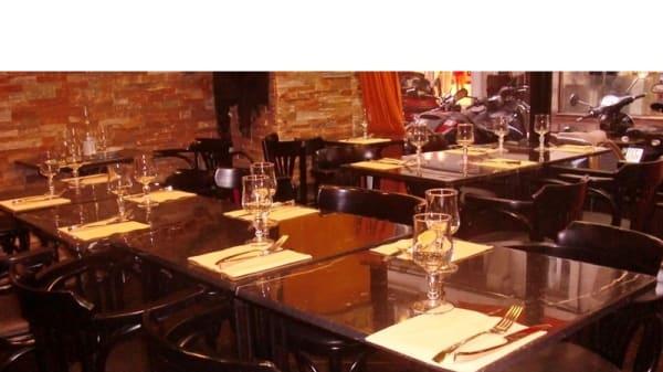 Table dressée - Beity, Levallois-Perret