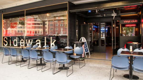Devanture - Sidewalk Café, Lausanne
