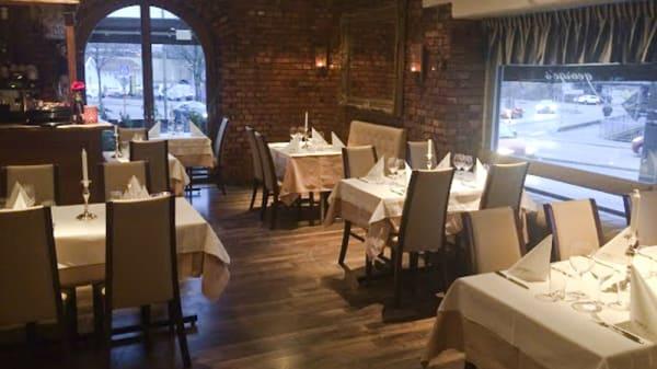 Dining room view - George's restaurang, Borås