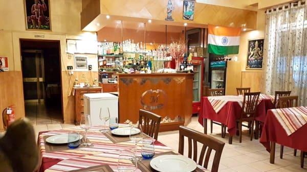 Sala del ristorante - Maharani, Venice