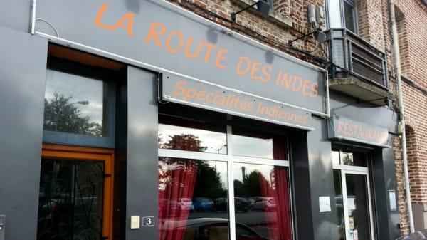 Entrée - La Route des Indes, Valenciennes