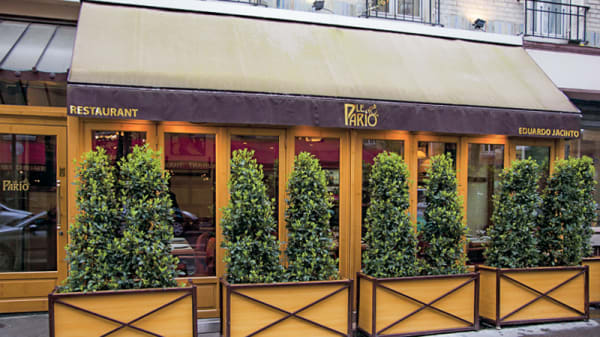 Entrée - Le Pario - Eduardo Jacinto, Paris
