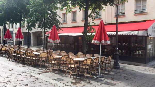 La terrasse - Bistrot Maison Rouge, Paris