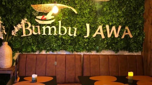 Het restaurant - Bumbu Jawa, The Hague
