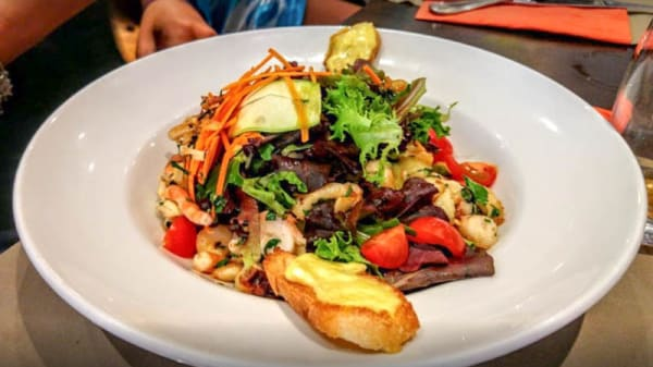 Suggestion de plat - La Focaccia, Nice