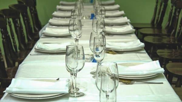 Vista mesa grupo - Karlos, Bilbao