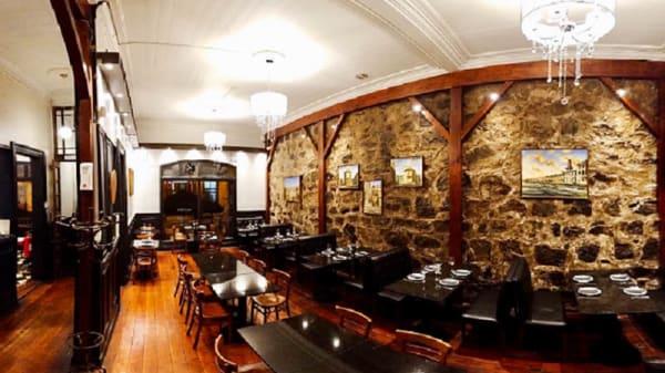 Vista de la sala - IL Paparazzo Ristorante & Winebar, Valparaíso