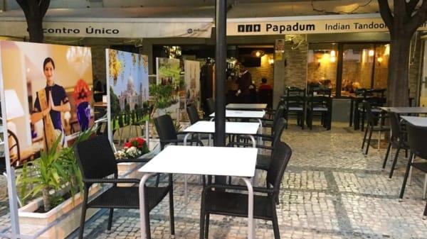 Esplanada - Indian Papadum restaurant, Portimão