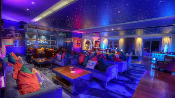 Vue de la salle - Le Blue Gin, Monaco
