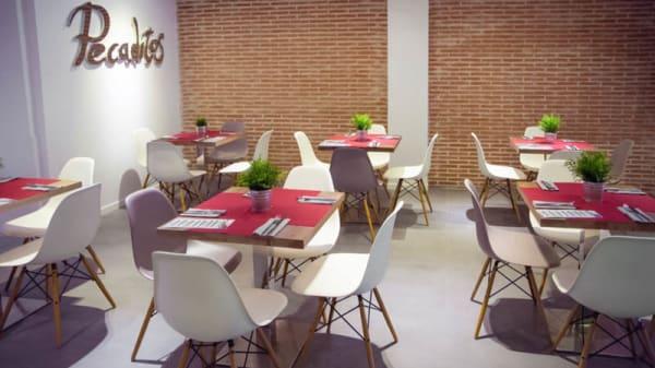 Vista sala - Pecaditos, Madrid