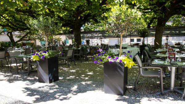 terrasse - Le Mirabeau, Lausanne