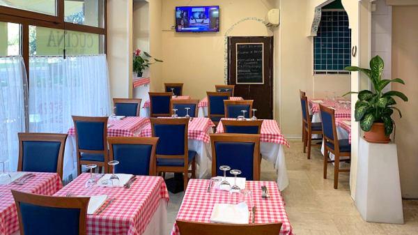 Salle du restaurant - Locanda La Romana, Rome