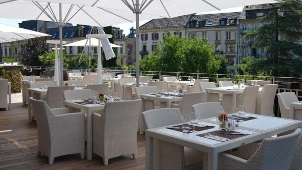 Terrasse - Restaurant La Rotonde - Casino, Neuchâtel