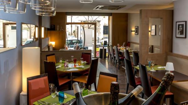 Salle du restaurant - Le Charles Livon, Marseille