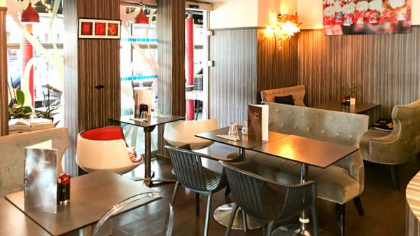 Salon du restaurant - Hoki Sushi, Paris