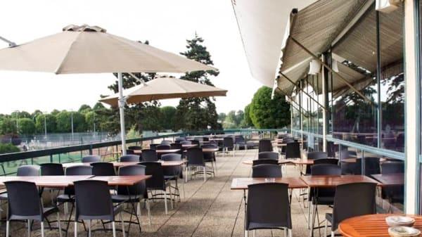 Vue terrasse - Events Club House Maisons-Laffitte, Maisons-Laffitte