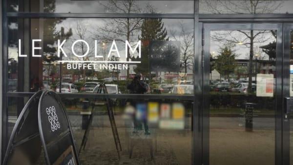 Entrée - Le Kolam, Chanteloup-en-Brie