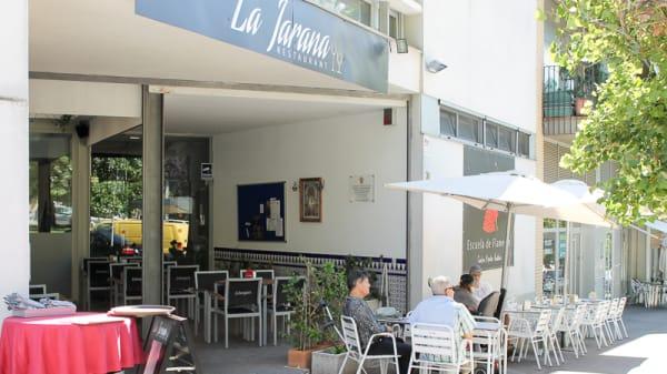 Entrada - La Jarana, Sant Cugat del Vallés