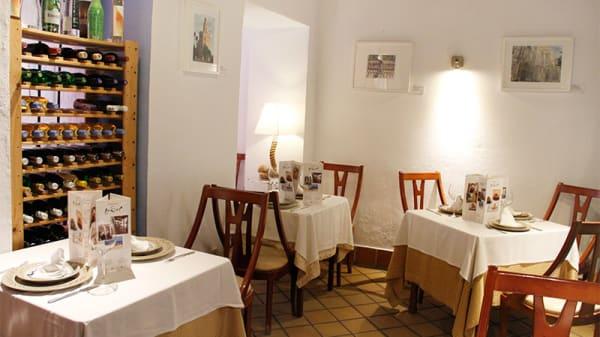 Vista mesas - Taberna La Sal Atún y Vinos, Sevilla