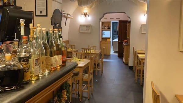 Sala - Osteria dello zingaro, Parma
