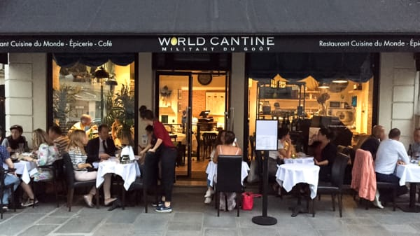 La terrasse du restaurant - World Cantine, Paris
