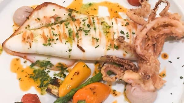 Sugerencia del chef - Merendero de Quimera, Oliva