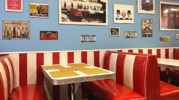 Interno - Melrose American Diner, Chiavari