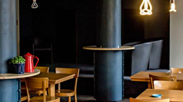 Vue intérieur - Culture Café, Lausanne