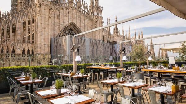 Terrazza - Obicà Mozzarella Bar Duomo, Milano