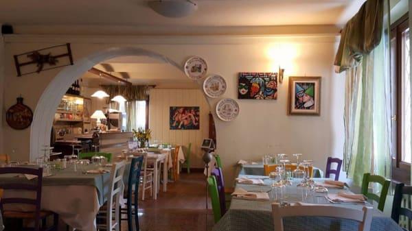 Vista sala - Trattoria Tre Colli, Asti