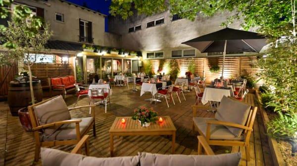 La terrasse - La Rôtisserie, Maisons-Alfort