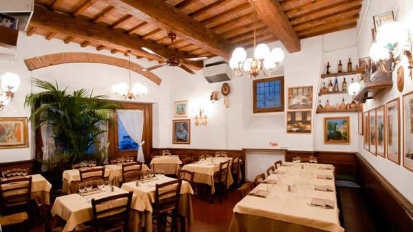 La sala - Antico Fattore, Florence