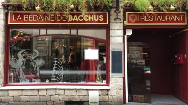 Entrée - La Bedaine De Bacchus, Lille