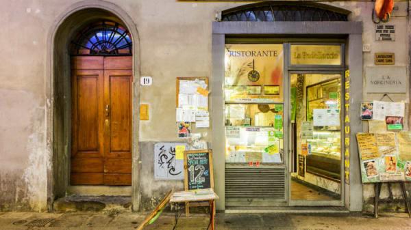 Entrata - La Padellaccia, Firenze