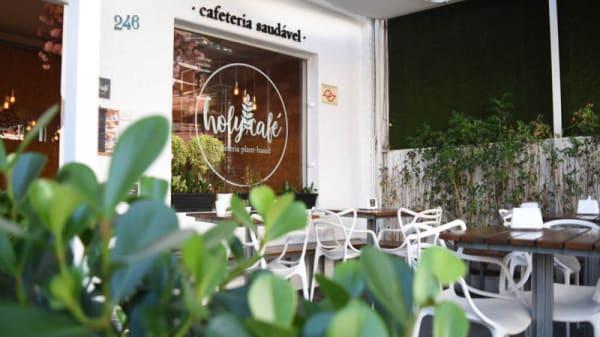 Fachada - Holy Café, São Paulo