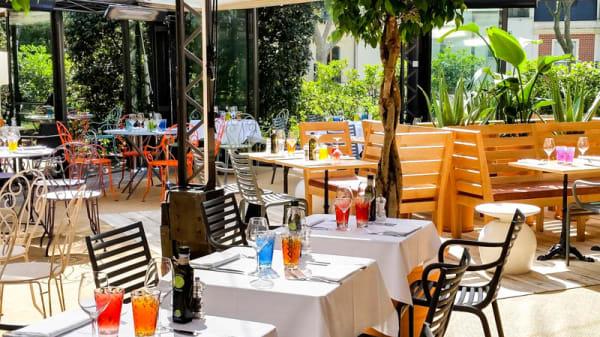 Terrasse - Café la Jatte - Le Restaurant, Neuilly-sur-Seine