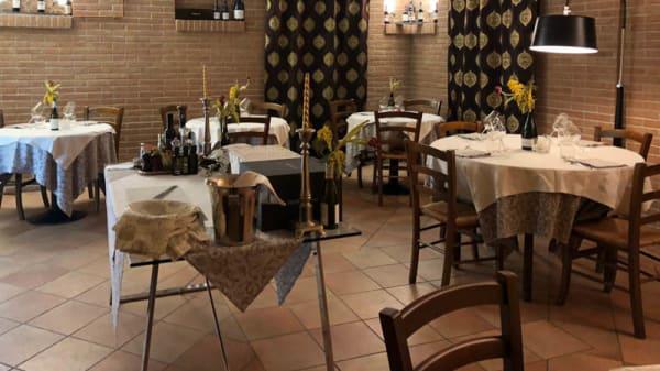 Vista sala - Ristorante Pizzeria La Soffitta, Pollenzo