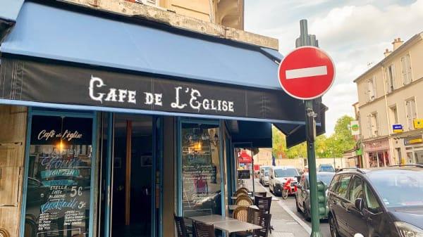 Entrée - Café de l'église, Clichy