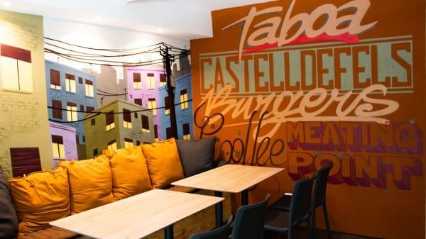 Vista del interior - Taboa Burgers & More, Castelldefels