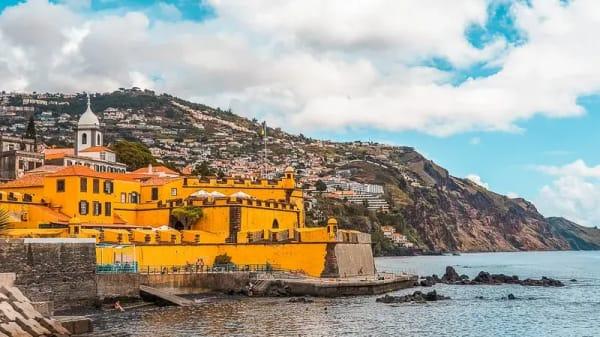 Localizacao F. S tiago - Restaurante do Forte, Funchal
