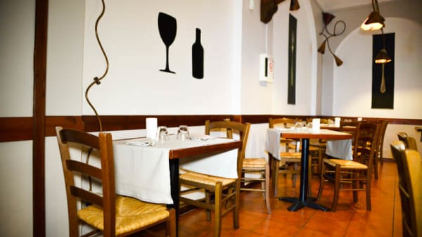 Vista sala - Osteria Del Frate, Turin