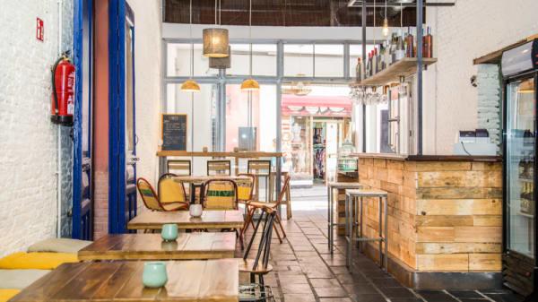 Sala del restaurante - Almazen Café, Sevilla