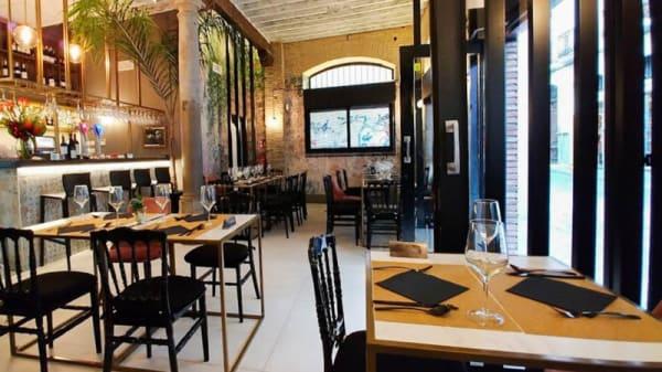 Vista de la sala - El Bar de Fede, Granada